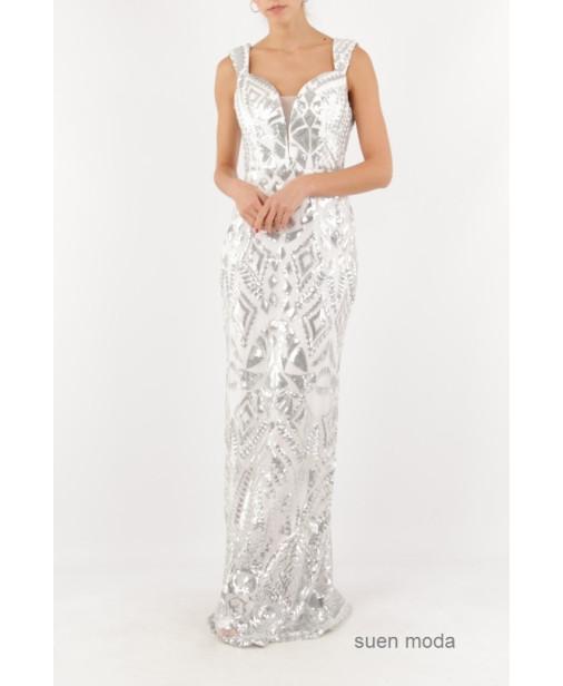 Vestido Sirena Lentejuelas